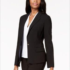 Calvin Klein Women's Black Blazer Jacket Coat 12